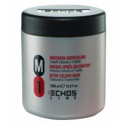 Echosline M1 Maska do włosów farbowanych 1L